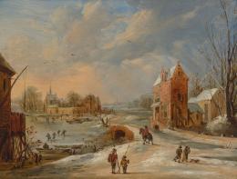 Frans de Momper (1603-1660), Winterlandschaft, um 1640 Innsbruck, Tiroler Landesmuseum Ferdinandeum, Ältere Kunstgeschichtliche Sammlungen, Inv.Nr. Gem 732 Foto: Tiroler Landesmuseen