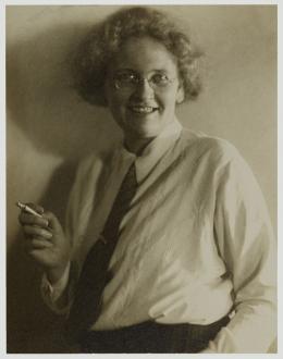 Elisabeth Treskow als junge Meisterin, Essen, um 1924/25, Foto: Gertrud Hesse, © Rheinisches Bildarchiv