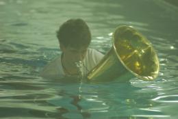 """""""Tristan: Schwimmen und Schweigen!"""", © Georg Nussbaumer, 2006"""