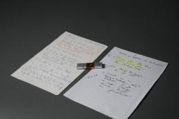 """USB-Stick Rechererchenotiz von Journalist Frederik Obermaier zum sogenannten """"Ibiza-Video"""", Credit: Haus der Geschichte Österreich"""