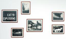 Marcel van Eeden, Cat 9: Explosions, 2011, Negrostift auf Papier, Donation de la Collection Florence et Daniel Guerlain, 2012 Centre Pompidou – Musée National d'Art Moderne, Paris © Marcel van Eeden © Adagp, Paris