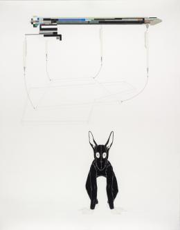 Catharina van Eetvelde, Equation, 2006, Donation de la Collection Florence et Daniel Guerlain, 2012 Centre Pompidou – Musée National d'Art Moderne, Paris © Catharina van Eetvelde © Adagp, Paris