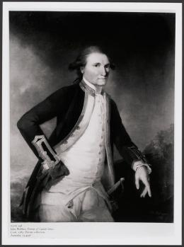 Abzug, Dia, Negativ: Kapitän James Cook, 1728-1779 © KHM-Museumsverband