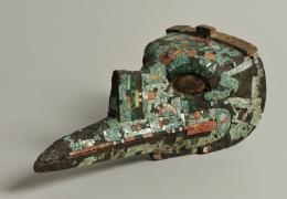 Vogelkopfmaske © Stiftung Schloss Friedenstein Gotha
