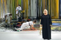 Bayreuther Festspiele 2021, Die Walküre, Irène Theorin (Brünnhilde) © Bayreuther Festspiele / Enrico Nawrath
