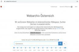 Startseite Webarchiv mit Suchbegriff: Coronavirus