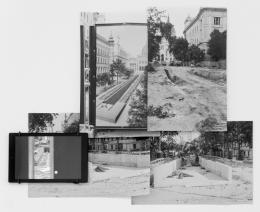 """Christina Werner, """"In the night they steal our past"""", 2019, Installationsansicht © Bildrecht Wien"""