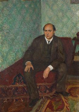 Porträt Arnold Schönberg, ca. 1907  Richard Gerstl Öl auf Leinwand © Wien Museum