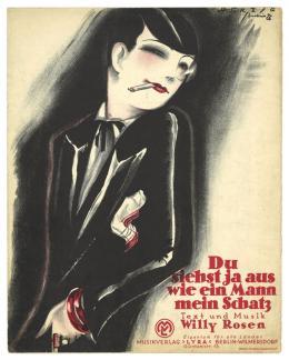 Willy Herzig, Mach Dir doch 'nen Bubikopf, Berlin 1924, Sammlung Walter und Dora Labhart