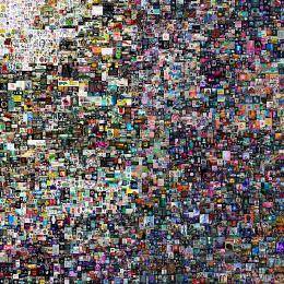 Mike Winkelmanns Bild 'Everydays - The first 5000 days' (© Christies/dpa)
