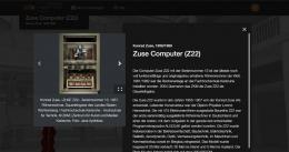 """Die ZKM-Ausstellung """"Berechenbar – Unberechenbar"""" in der Digitalen Kunsthalle des ZDF © ZDF"""